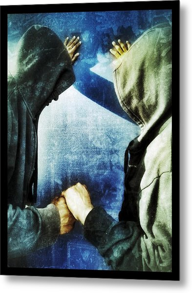 Brothers Keeper Metal Print