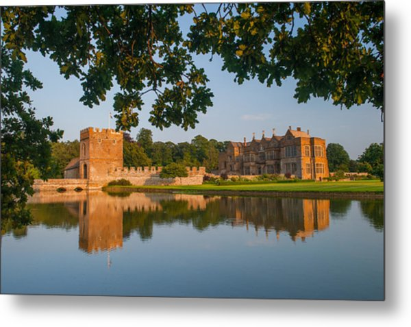 Broughton Castle Metal Print by David Ross