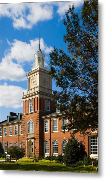 Metal Print featuring the photograph Browning Building At  A P S U by Ed Gleichman