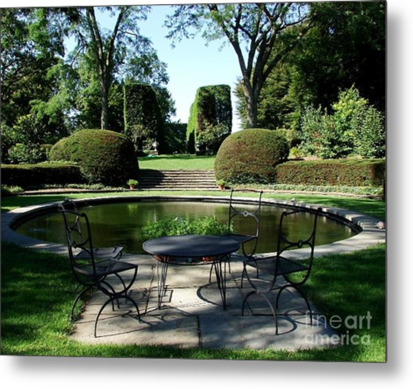 Brunch At Wethersfield Metal Print