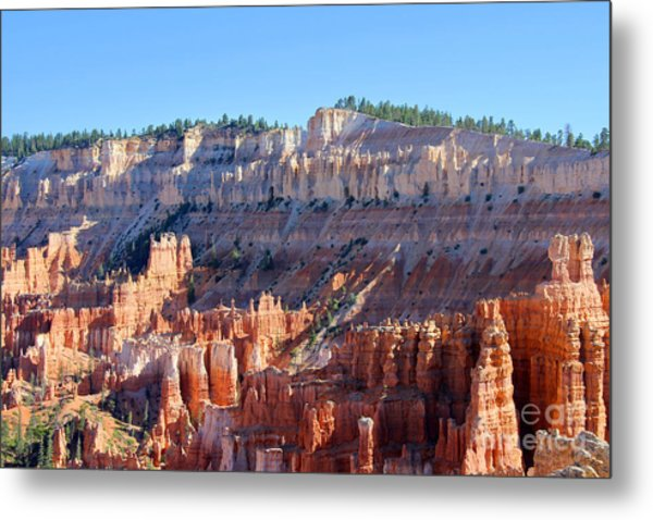 Metal Print featuring the photograph Bryce Amphitheater by Jemmy Archer