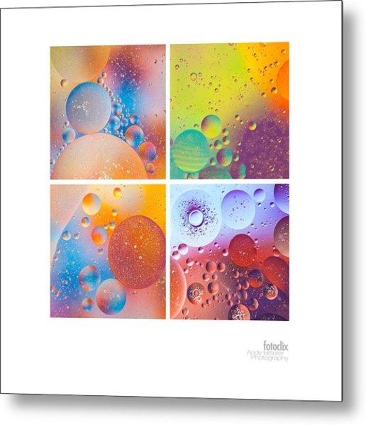 Bubbles I Metal Print