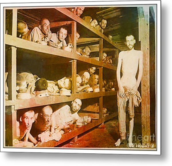 Buchenwald Concentration Camp Metal Print