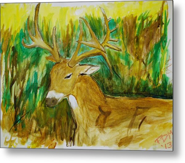 Buck Of A Lifetime Metal Print
