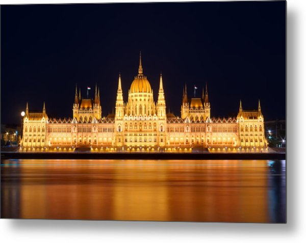 Budapest Parliament Metal Print by Ioan Panaite