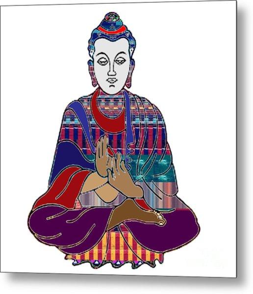 Buddha In Meditation Buddhism Master Teacher Spiritual Guru By Navinjoshi At Fineartamerica.com Metal Print