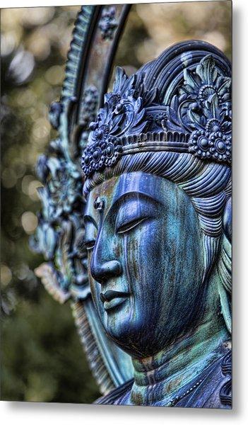Buddha Metal Print by Karen Walzer