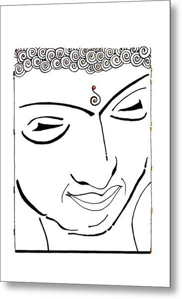 Buddha Xiv Metal Print