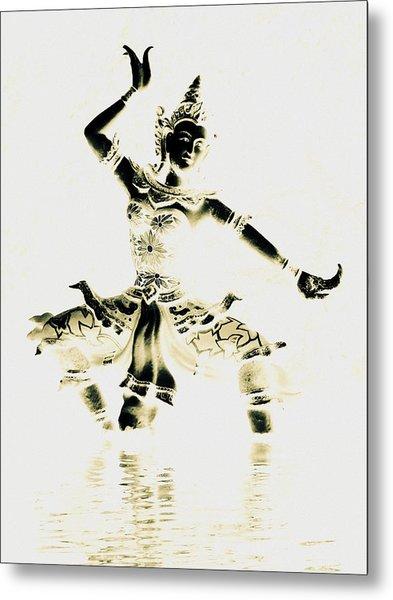 Buddhist Dancer Metal Print