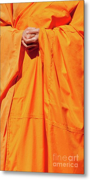Buddhist Monk 02 Metal Print