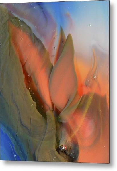 Budding From The Depths Metal Print