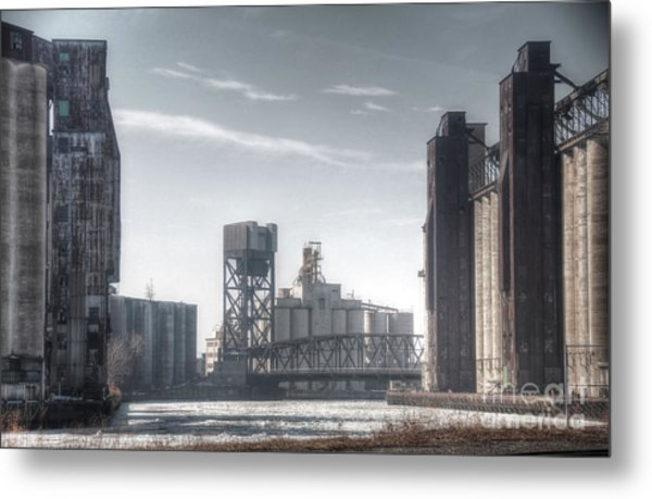 Buffalo Grain Mills Metal Print