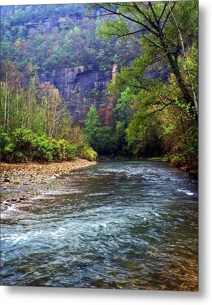 Buffalo River Downstream Metal Print