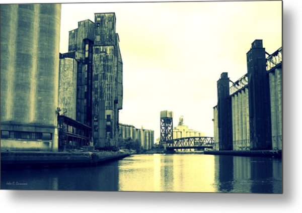 Buffalo River Metal Print by John Carncross
