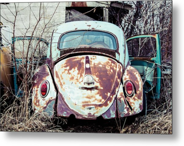 Buggin' Out Metal Print