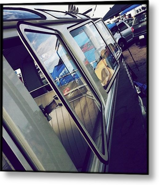 #bugorama #2013 #sacramento #vw #bus Metal Print