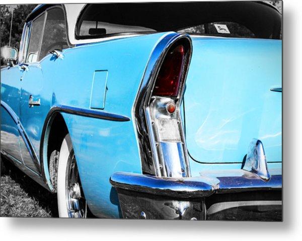 Buick Baby Blue Metal Print