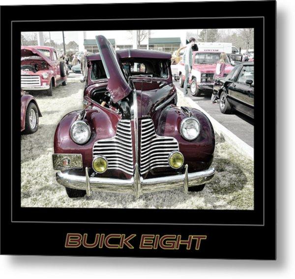 Buick Eight Retro Metal Print