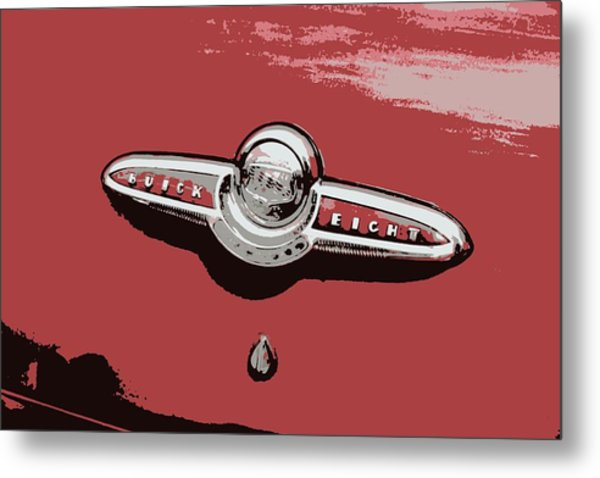 Buick  Metal Print by Tina Sessions