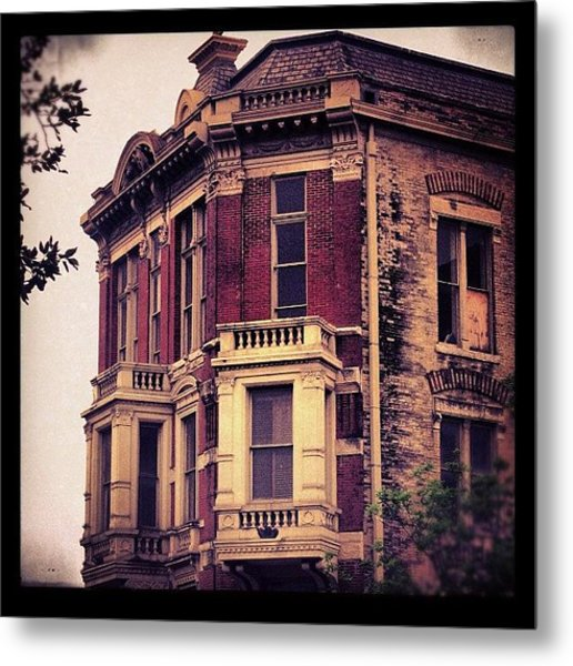 #building #architecture #brick #old Metal Print