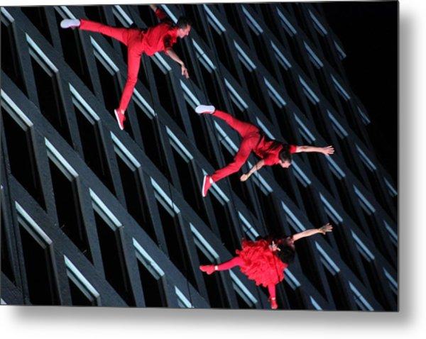 Building Dancers  Metal Print