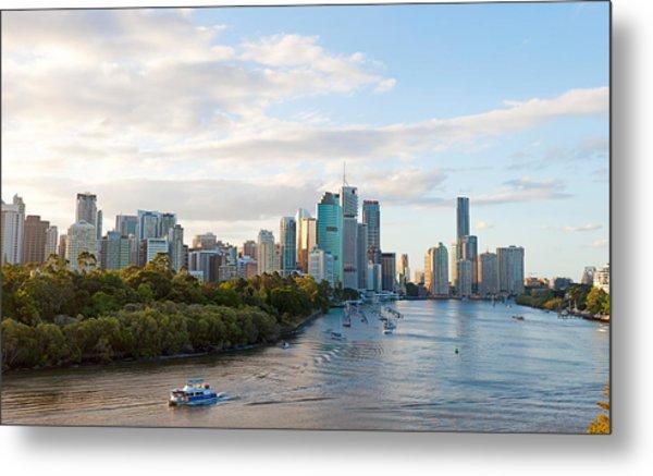 Buildings At The Waterfront, Brisbane Metal Print