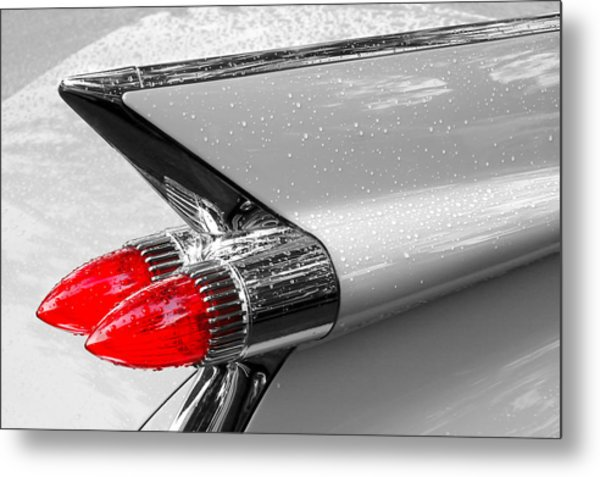 Bullet Tail Lights Metal Print