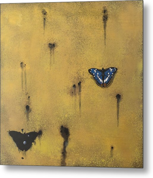 Bullets And Butterflys Metal Print