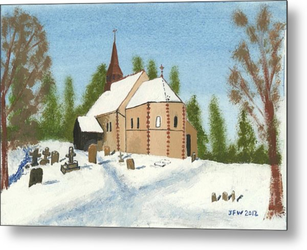 Bulley Church Metal Print