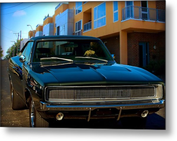 Bullit Replica Charger Metal Print