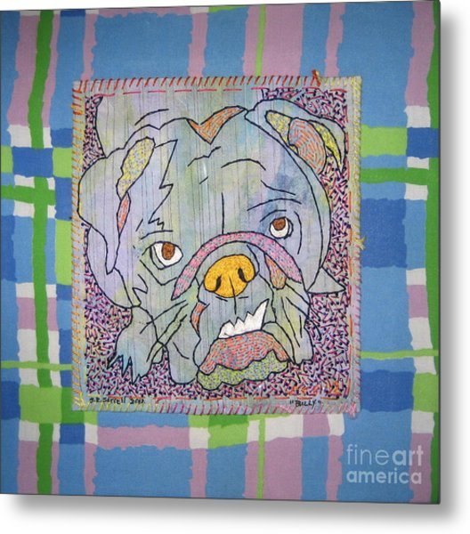 Bully Metal Print by Susan Sorrell