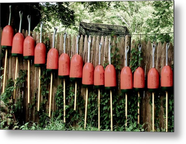 Buoys Metal Print