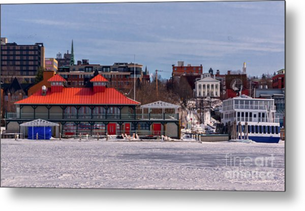 Burlington Vermont Metal Print