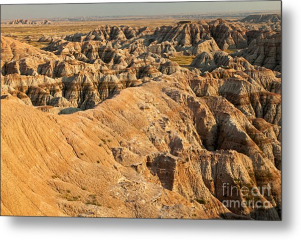 Burns Basin Overlook Badlands National Park Metal Print