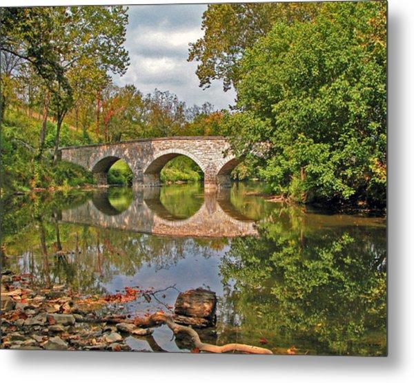 Burnside's Bridge 001 Metal Print