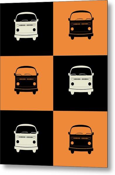 Bus Poster Metal Print