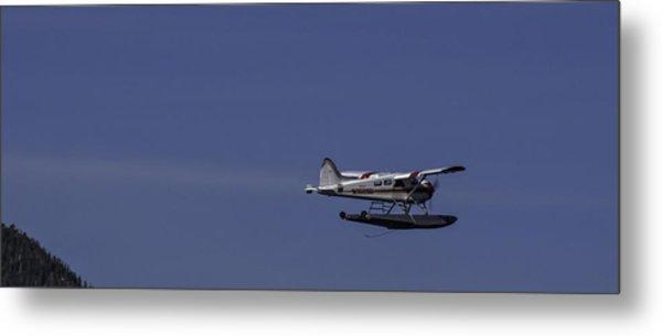 Bush Plane 001 Metal Print