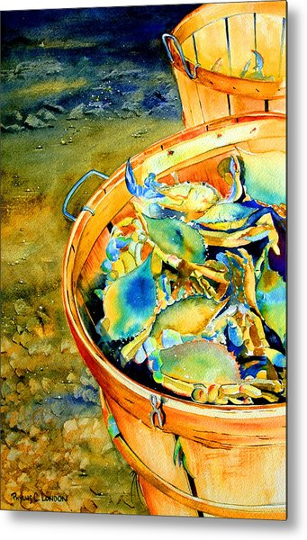 Bushel Of Gold Metal Print