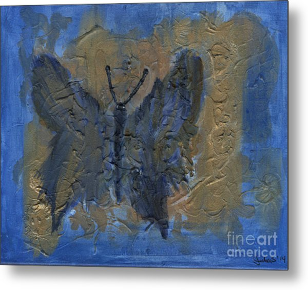 Butterfly Of The Ancients Metal Print