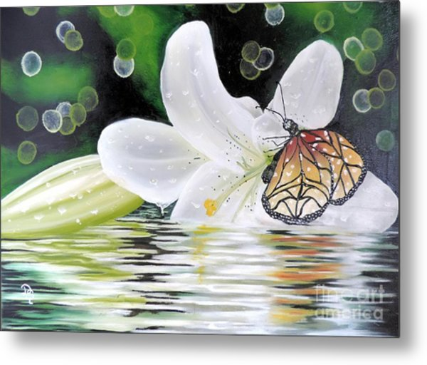 Butterfly Series Seven Metal Print