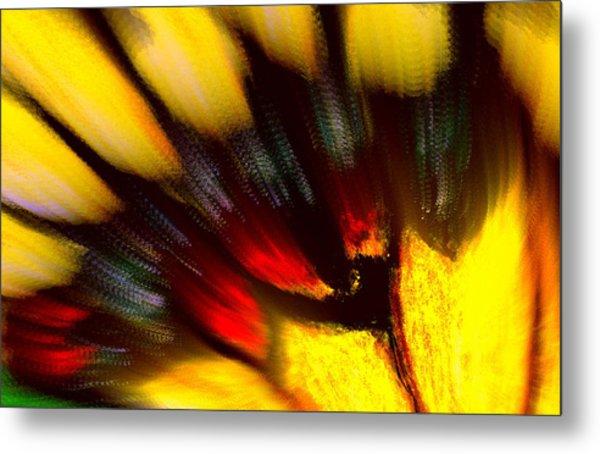 Butterfly Wing Pastel Metal Print
