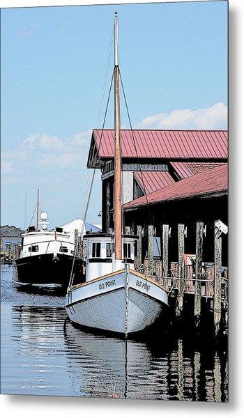 Buy Boat Old Point Metal Print