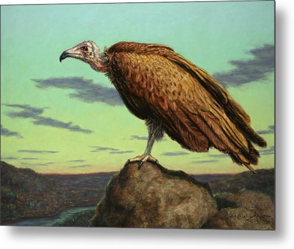Buzzard Rock Metal Print