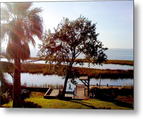 By The Bay Metal Print