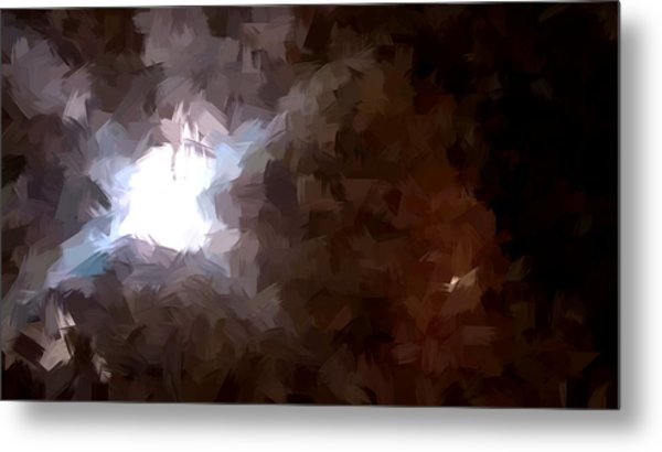 By The Moonlight Metal Print