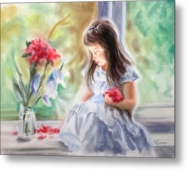 By The Window Metal Print by Harry Speese