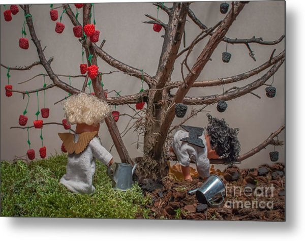 By Their Fruits You Will Recognize Them Metal Print