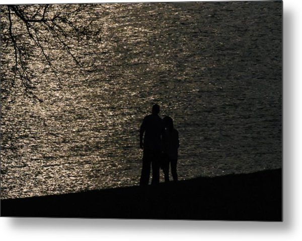 By Your Side Metal Print