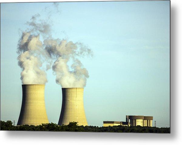 Byron Nuclear Plant Metal Print