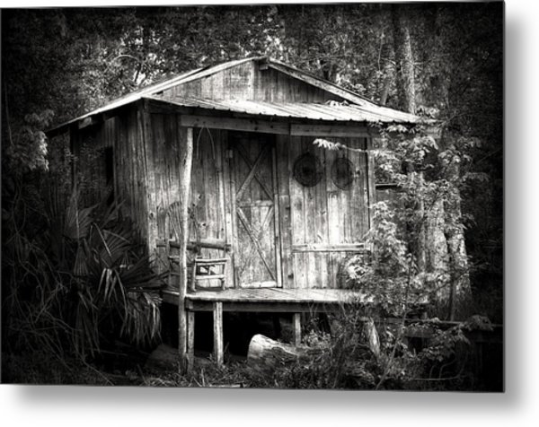 Cabins Of Southern Louisiana Metal Print